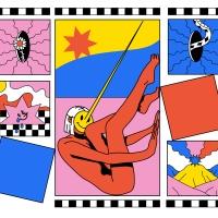 Situaciones cotidianas ilustradas en escenas surrealistas por Madboy